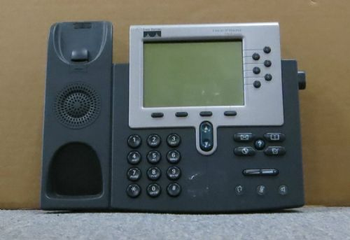 Cisco CP-7960G 7960G VoIP IP Business Desktop Display Phone Telephone NO Stand
